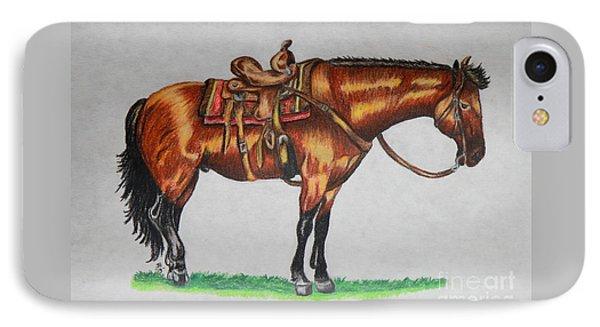Western Horse IPhone Case