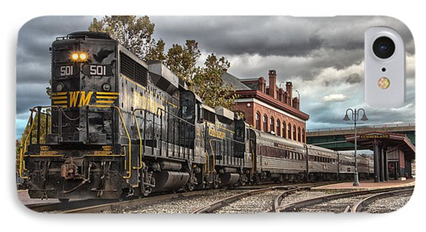 Western Maryland Scenic Railroad IPhone Case