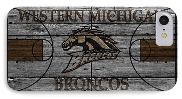 Western Michigan Broncos IPhone Case by Joe Hamilton