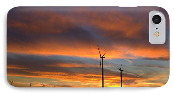 IPhone Case featuring the photograph Western Oklahoma Skies 1 by Jim McCain