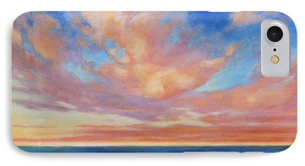 IPhone Case featuring the painting Western Skys by Andrew Danielsen