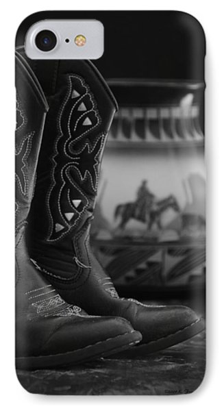 Western Still Life 2 IPhone Case by Kenny Francis