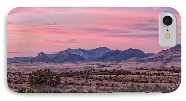 Western Twilight IPhone Case by Beverly Parks