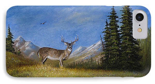 Western Whitetail Phone Case by C Steele