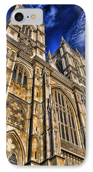 Westminster Abbey iPhone 7 Case - Westminster Abbey West Front by Stephen Stookey