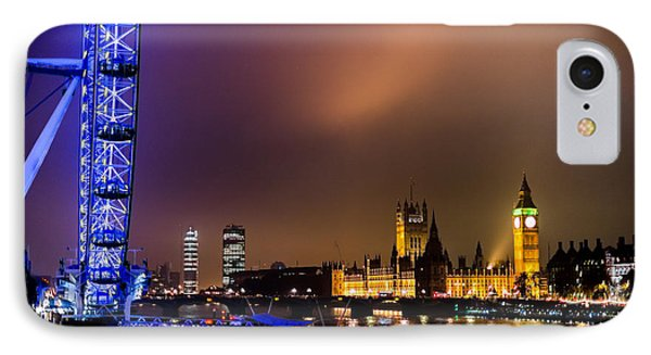 Westminster And Eye Night Glow IPhone Case