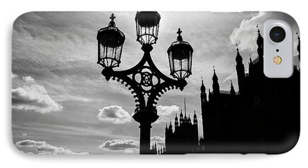 IPhone Case featuring the photograph Westminster Silhouette by Matt Malloy