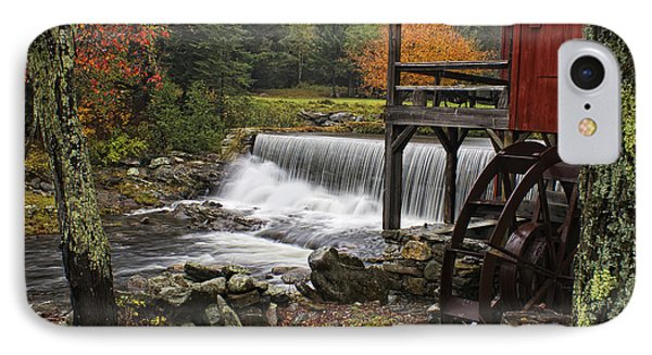 Weston Grist Mill IPhone Case by Priscilla Burgers