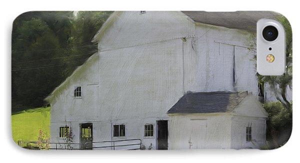 Westport Barn IPhone Case by Fran Gallogly