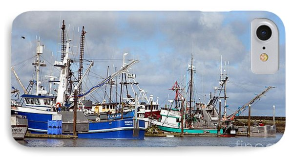 Westport Fishing Boats 2 IPhone Case by Chalet Roome-Rigdon