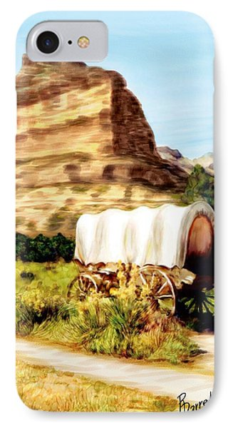 Westward Ho IPhone Case by Ric Darrell
