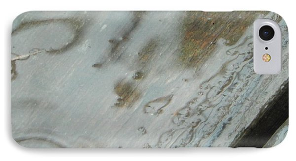 IPhone Case featuring the photograph Wet Deck by Betty-Anne McDonald