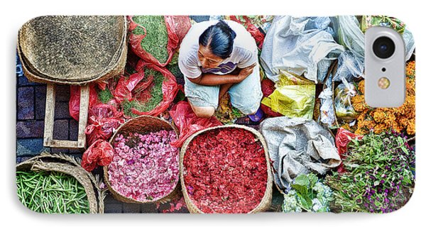 Wet Market In Ubud IPhone Case