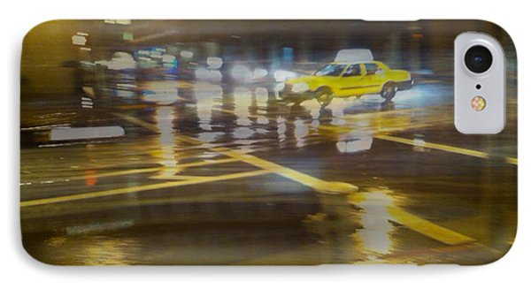 IPhone Case featuring the photograph Wet Pavement by Alex Lapidus