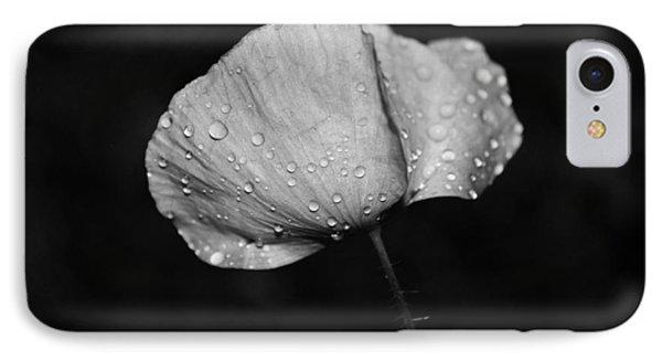 Wet Poppy  IPhone Case