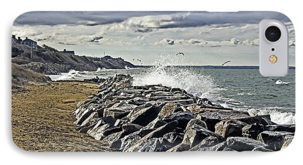 Wet Rock Walk  IPhone Case by Constantine Gregory