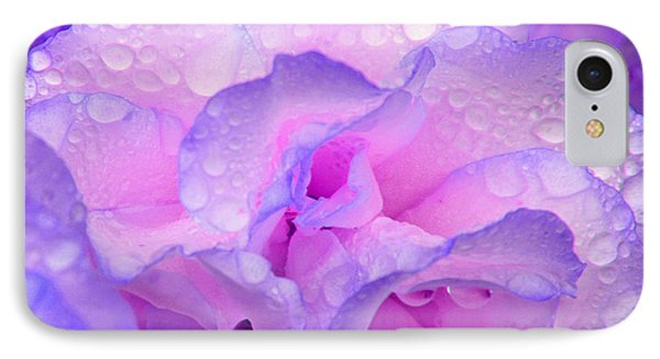 Wet Rose In Pink And Violet IPhone 7 Case