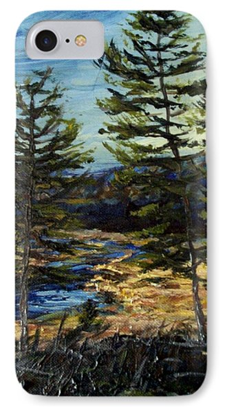 Wetland Meadow IPhone Case by Denny Morreale