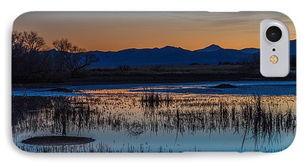 IPhone Case featuring the photograph Wetland Twilight by Beverly Parks