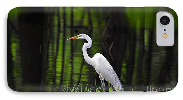 Wetland Wader IPhone Case by Al Powell Photography USA