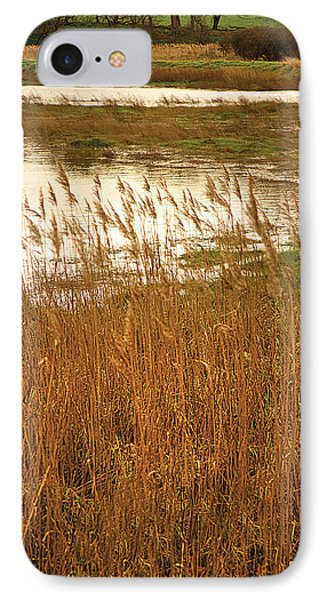 IPhone Case featuring the digital art Wetlands by David Davies