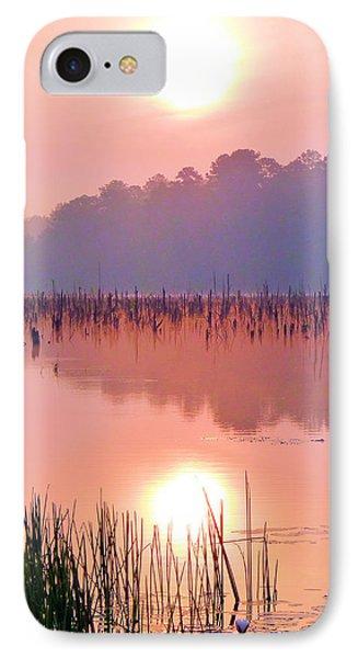 Wetlands Sunrise Phone Case by JC Findley