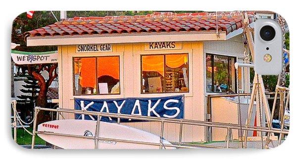 Wetspot Kayak Shack IPhone Case