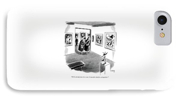 We've Already Done This Room. I Remember That ?re IPhone Case by Barney Tobey