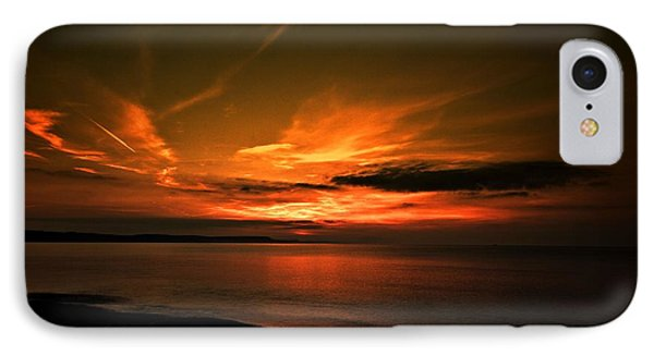 IPhone Case featuring the photograph Weymouth  Golden Sunrise by Baggieoldboy