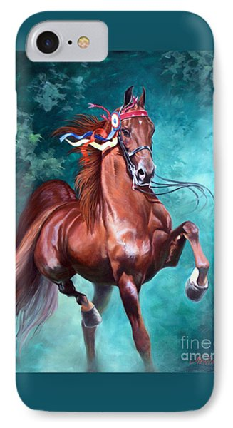 Wgc Courageous Lord IPhone Case by Jeanne Newton Schoborg