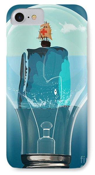 Whale Lights  Phone Case by Mark Ashkenazi