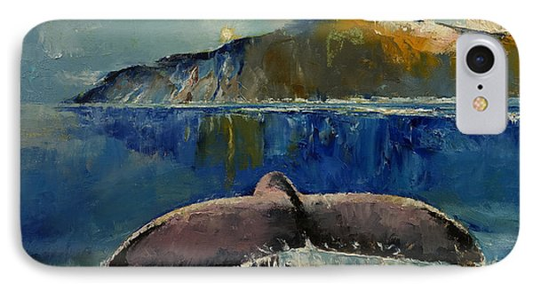 Whale Song IPhone Case by Michael Creese