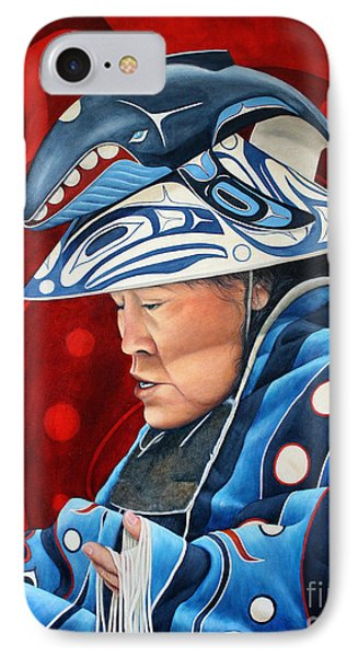 Whale Woman Phone Case by Joey Nash