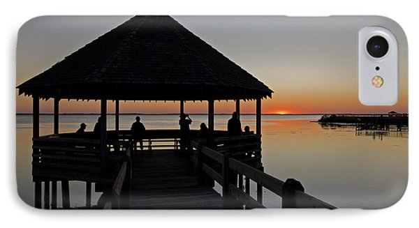 IPhone Case featuring the photograph Whalehead Sunset Obx by Greg Reed