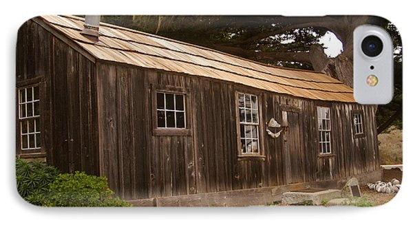 Whalers Cabin Phone Case by Barbara Snyder