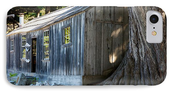 IPhone Case featuring the photograph Whaler's Cabin by Vinnie Oakes