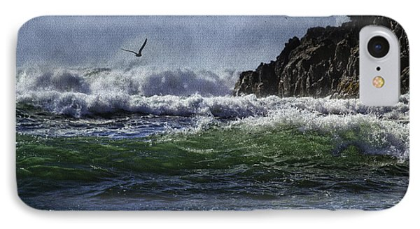 Whales Head Beach Southern Oregon Coast IPhone Case by Diane Schuster