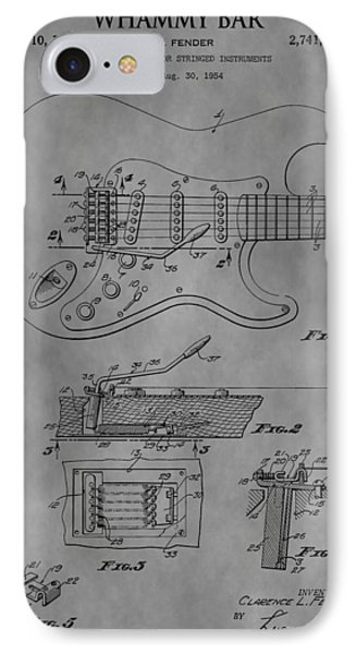 Whammy Bar IPhone Case by Dan Sproul