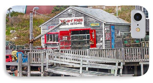 Wharf Hags Peggy's Cove Phone Case by Betsy Knapp
