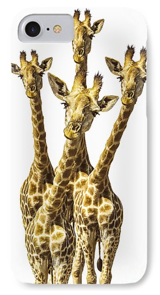 What Are You Looking At? IPhone 7 Case by Diane Diederich