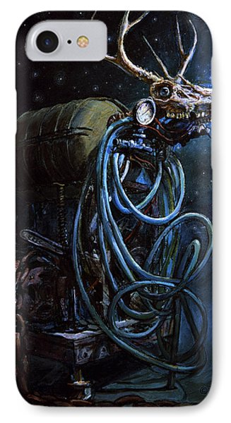 What If... Phone Case by Frank Robert Dixon