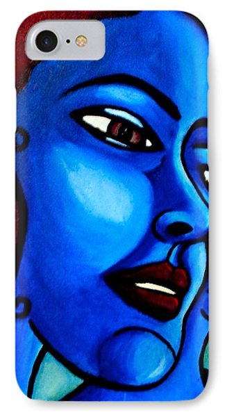 What Is An Individual? IPhone Case by India Samara