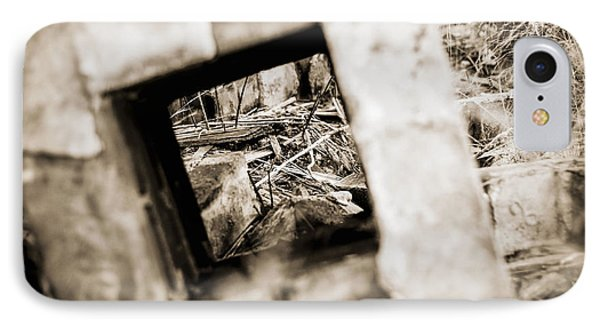 IPhone Case featuring the photograph What Remains by Amber Kresge