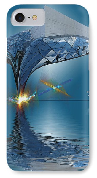 What Would Dali Do? IPhone Case by Gordon Engebretson