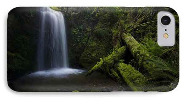 Whatcom Falls Serenity IPhone Case by Mike Reid