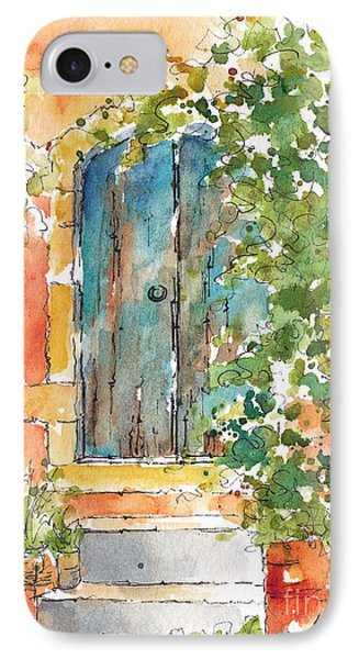 What's Behind That Door? IPhone Case by Pat Katz