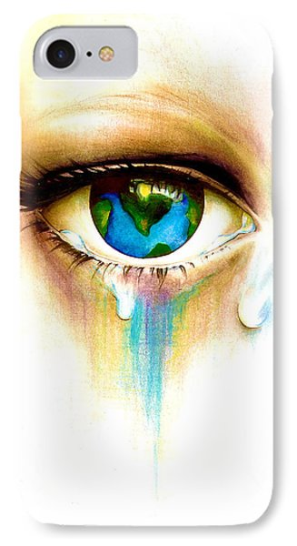 What's In A Tear? Phone Case by Andrea Carroll
