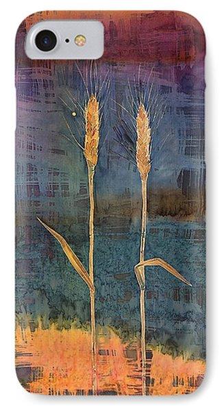Wheat Couple Phone Case by Carolyn Doe