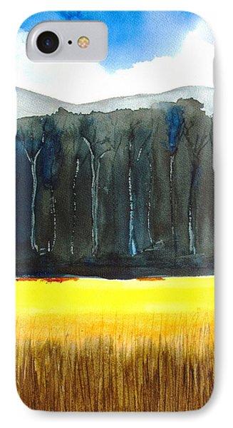 Wheat Field 2 IPhone Case by Carlin Blahnik