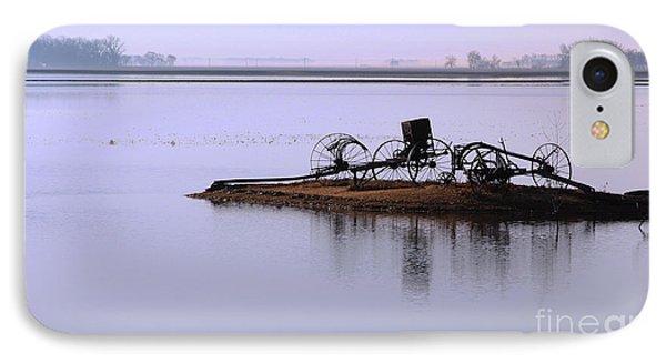 Wheat Field Under Water IPhone Case by Steve Augustin